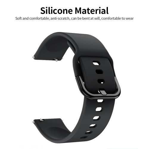 Replaceable Silicone Watch Strap 22mm Buckle Watch Strap Watch Band Compatible with Samsung Galaxy Watch Active2 Grey, TOMTOP  - buy with discount