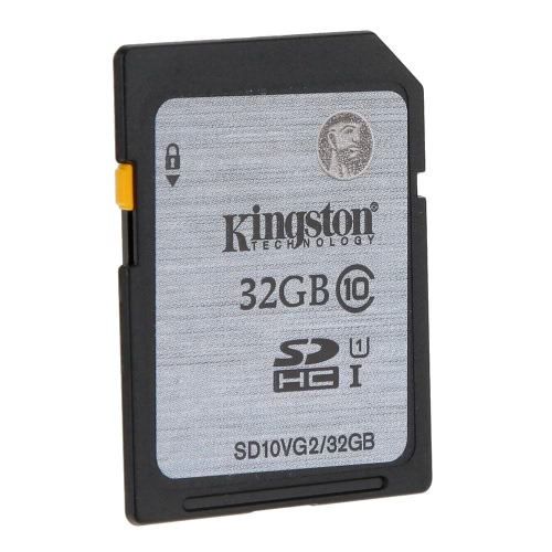Genuine Original Kingston Class 10 32GB SDHC Memory Card 45M/s for Cellphone Camera HD Video