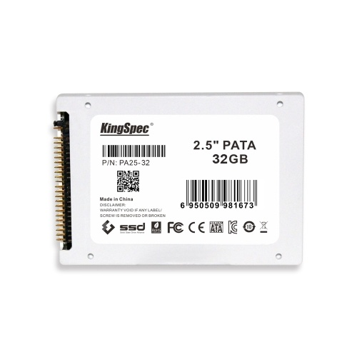 "KingSpec PATA(IDE) 2.5"" 2.5 Inches 32GB MLC Digital SSD Solid State Drive"