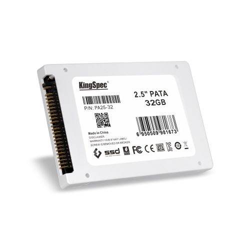"""KingSpec PATA(IDE) 2.5"""" 32GB MLC Digital SSD Solid State Drive for PC C2762-32"""