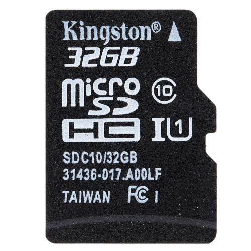 Kingston Class 10 8 GB 16 GB 32 GB 64 GB MicroSD TF Tarjeta de memoria flash 48MB / s velocidad máxima con adaptador de tarjeta