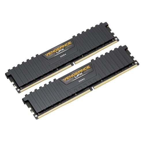 Corsair Vengeance LPX DIMM de 32 Go (2 * 16 Go) DDR4 DRAM 3000MHz RAM Kit C15 Noir