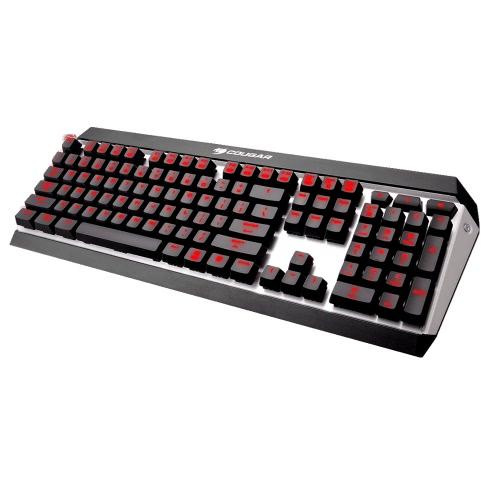 Cougar ATTACK X3 Profesjonalne Gaming Esport Cherry MX Brown klawiatura mechaniczna Przełącznik 10 programowalnych klawiszy z podświetleniem LED USB przewodowy szybki