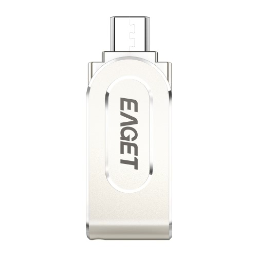 EAGET V88 32G USB 3.0 Micro USB OTG Flash Drive Thumb Pen Drive Memory Stick Capacity Expansion for Android Smartphone Tablet PC Laptop