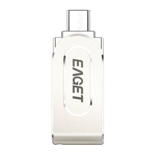 EAGET V88 32G USB 3.0 Micro USB OTG Flash Drive Thumb Pen Drive Memory Stick Pojemność rozszerzeń dla systemu Android Smartphone Tablet PC Laptopy
