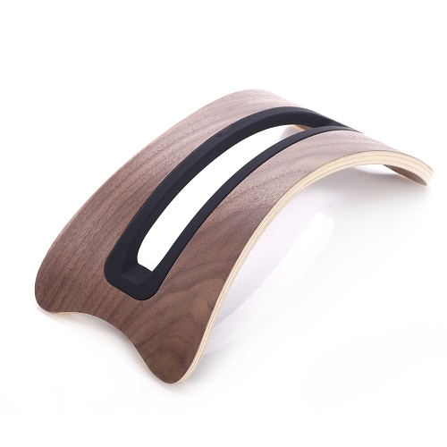 Samdi BookArc Natural Original Proste drewniane pionowe Pulpit Stojak Uchwyt wyświetlacza Stander dla Apple Macbook Air