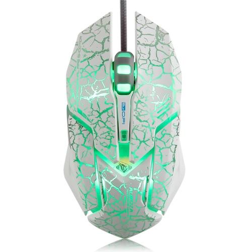 E-3LUE 4000DPI mouse regolabile USB per il gioco