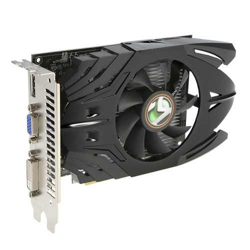 MAXSUN GT710 Moc Hammer PLUS 1G Gaming Graphics Karta graficzna 954 / 1600MHz 1G / 64bit PCI-E GDDR3 HDMI + DVI + DP Port