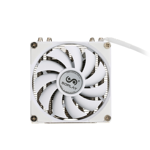 SOPLAY CPU Cooler 4 Heatpipes 4pin 9.2cm PWM Fan PC Computer