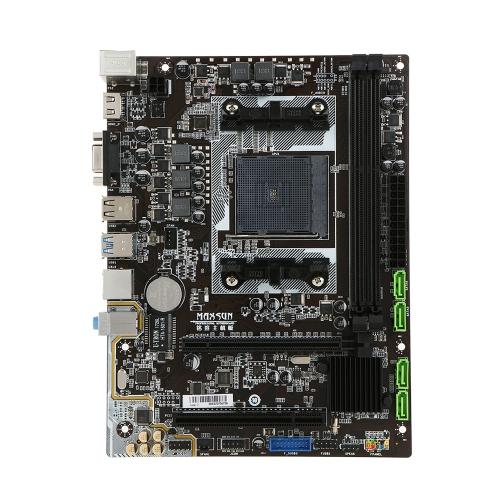 MAXSUN MS-A88FX Płyta główna Płyta główna do komputerów desktop Płyta główna do AMD A88FX FM2 / FM2 + Gniazdo SATA 6 Gb / s USB 3.0 DDR3 mATX