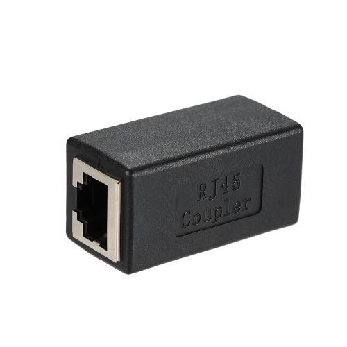 RJ45 Coupler In-Line Coupler CAT 5 / CAT 6 / CAT 7 LAN Ethernet Кабельный удлинитель Переходник Женский к женскому прямому модульному разъему