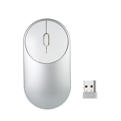 2.4G Wireless Mouse Alta precisão Sensor Velocidade Adaptativo Scroll Wheel para Mac PC Laptop Computer