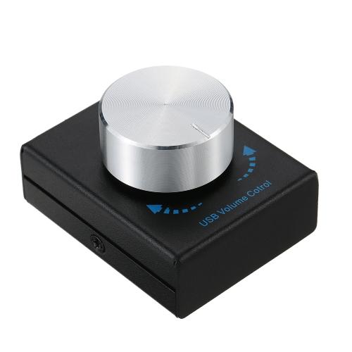 Sterowanie głośnością USB Głośnik komputerowy Regulator głośności regulatora dźwięku z funkcją wyciszania jednym przyciskiem