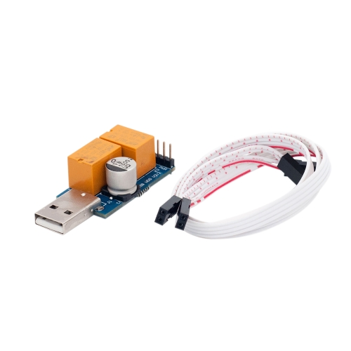 USB ووتش الكلب التعدين آلة جهاز الكمبيوتر الخاص الأزرق الميت لعبة مجانية محرك هجوم