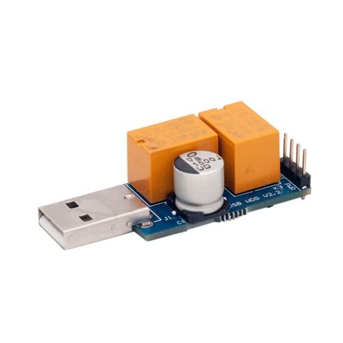 Máquina de mineração de cão de relógio USB computador especial jogo de tela azul morto ataque de unidade livre