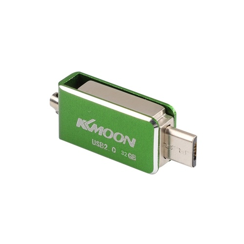 KKMOON USB 2.0 OTG Pen Drive Rotatable Flash Drive