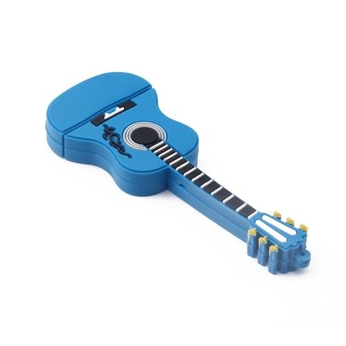 Mini Guitar USB Flash Drive USB 2.0 Flash Disk