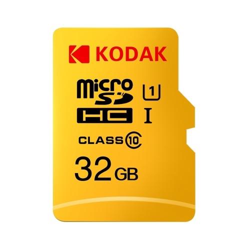 Kodak Micro SD Card 32GB TF Card Class10 C10 U1 Memory Card Velocità veloce
