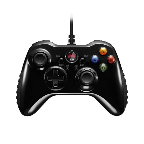 Betop Asura2 Game Controller Wired Gamepad con Joystick para PC Android PS3 (Negro)