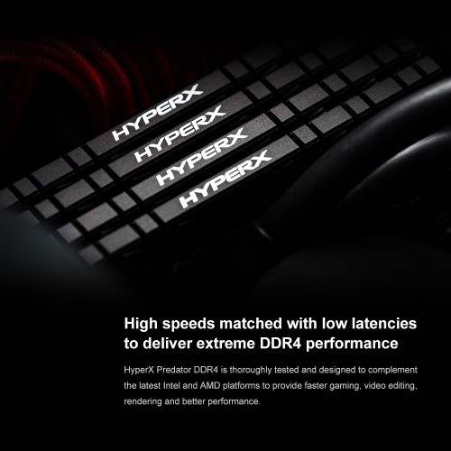 Kingston HyperX Predator RGB DDR4 3200MHz 16GB(2x8GB) Memoria Ram UDIMM  288-pin XMP Memory Rams for Desktops HX432C16PB3AK2/16(Kit of 2) -  tomtop com