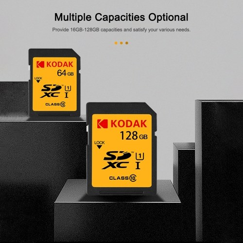 Kodak U1 SD Card 32GB High Speed 85MB/s Class 10 Memory Card Digital SLR Camera Card