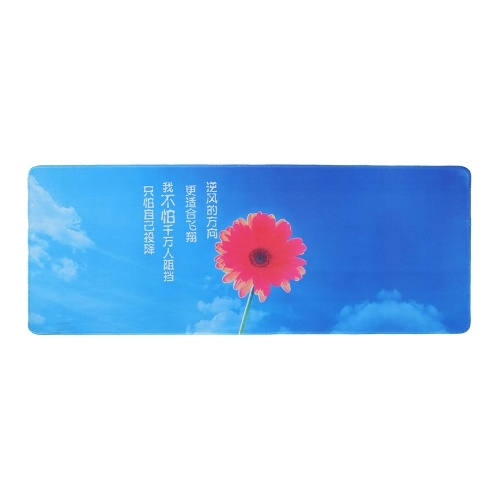Extra Large Mouse Pad Anti-Slip Mouse Mat Rubber Desk Keyboard Mouse Mat
