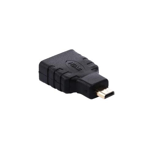 Адаптер Micro HDMI к HDMI Мужской / Женский адаптер высокого разрешения для планшета / камеры / ноутбука / телевизора фото