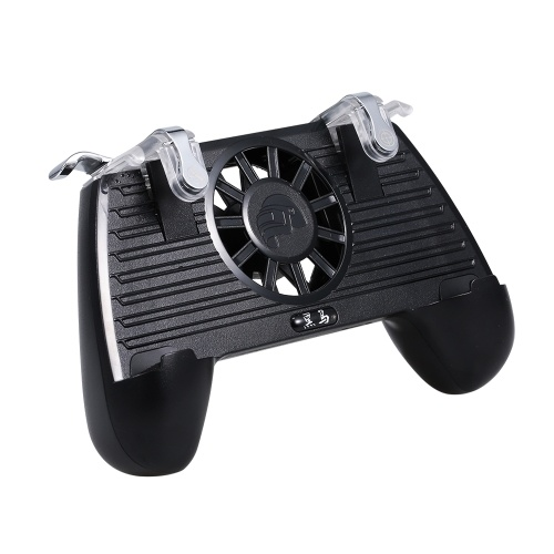 Mobile Game Controller Gaming Griff Gamepad mit Power Bank Lüfter für PUBG 4400mAh