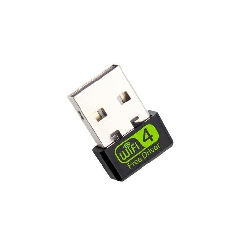 Mini USB WiFi Router Adaptador Red LAN Tarjeta Transmisor Receptor Plug & Play para Windows XP / Vista / Linux
