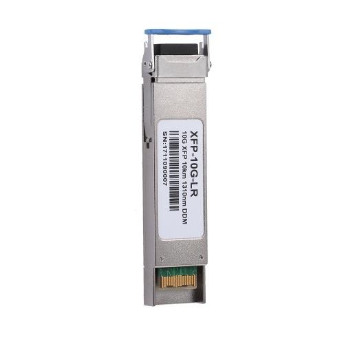 XFP-10G-LR 10 Гбит / с 10 км 1310 нм DDM дуплексный разъем LC Модуль оптоволоконного приемопередатчика XFP Одномодовый оптический модуль