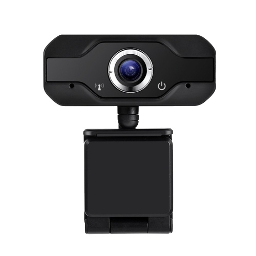 USB Webcam Video Camera Web Digital Camera 1MP 720P High-definition HD Camera 360°Rotation Plug and Play Camera with Noise Canceling Microphone for Computers Laptop
