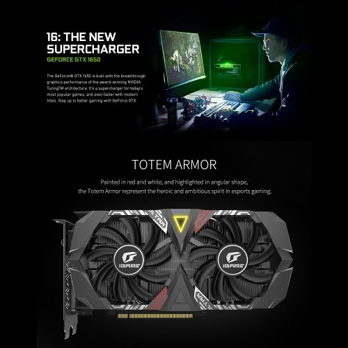 Colorful iGame GeForce GTX 1650 ...