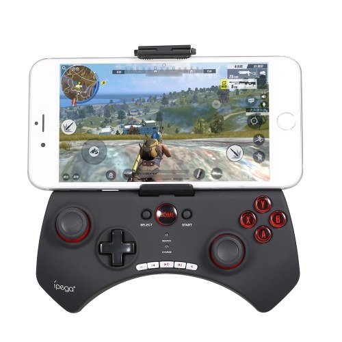 Ipega PG-9025 BT Wireless Game Controller Gamepad Joystick Remote Rechargeable Joypad with Clip for Smartphone Tablet Pad