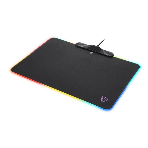 Motospeed P98 RGB Mouse Pad 350 * 250 * 3.5mm Capacitive Touch Switch USB Wired LED RGB Colorful Lighting Gaming Mousepad Mouse Pad Mice Mat for Laptop Computer