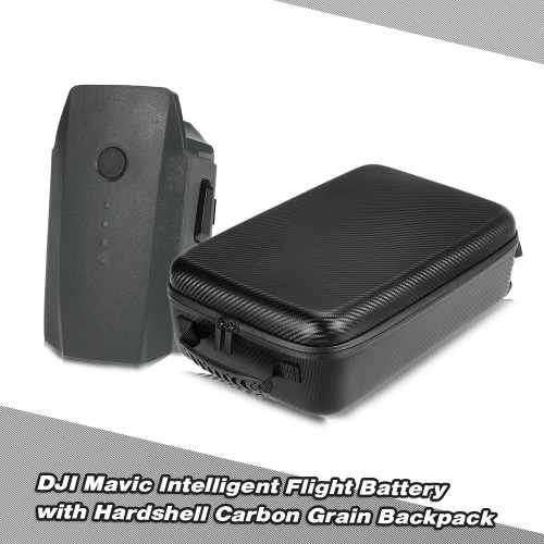 DJI Mavic 11.4V 3830mAh 3S Battery for DJI Mavic Pro FPV Drone with Hardshell Backpack