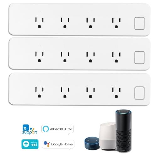 OWSOO WiFi Smart Steckdosenleiste Smart Überspannungsschutz