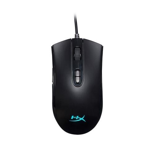 Mouse da gioco con mouse RGB Kingston HyperX Pulsefire Core Wired 6200 DPI Mouse ergonomico per laptop desktop