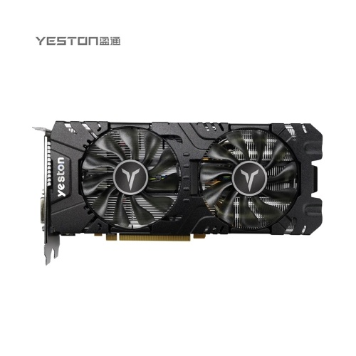 Yeston RX590GME-8G D5 GAEA Graphic Card 1380/8000MHz 8G/256bit/GDDR5 Gaming Graphics Card with 2 Fans for Desktop Computer