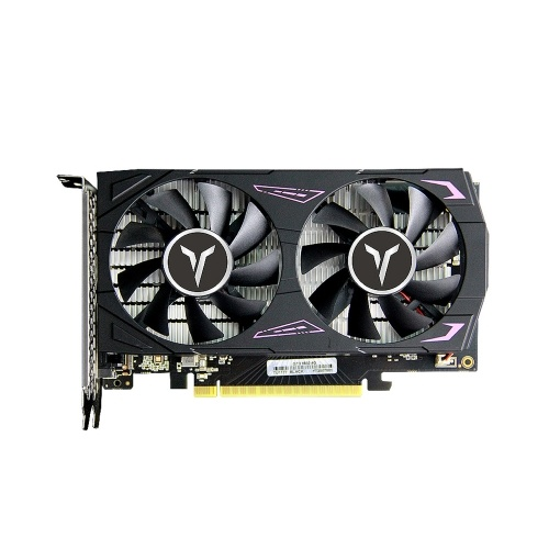 Yeston GTX1650-4G D6 GA Graphic Card 1410/1590MHz 12000MHz 4GB/128bit/GDDR6 Gaming Graphics Card DVI-D+HDMI+DP for PC