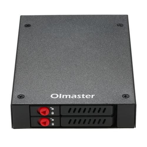 OImaster Full Metal 2 Bays Rack Mobile