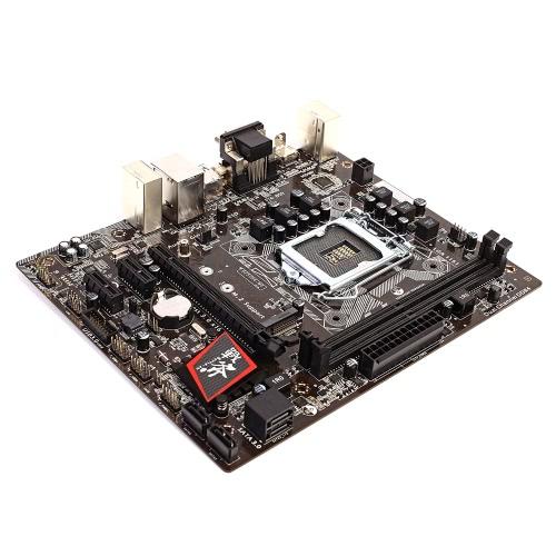 Kolorowe Topór C.B250M-HD V20 Intel B250 LGA 1151 Gniazdo SATA 6Gb / s USB 3.0 Gaming DDR4 mATX Komputer biurkowy Płyta główna Płyta główna obwodu płyty systemowej bazy Board