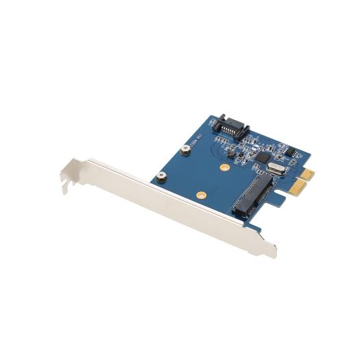 Mini PCI-E a MSATA SSD & SATA3.0 Combo a PCI-E Scheda PCI Express