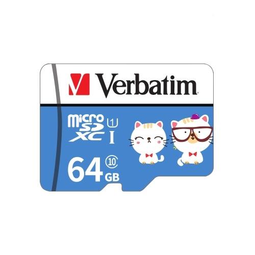 Tarjeta de memoria Verbatim Micro SD Class10 TF Tarjeta de 64 GB