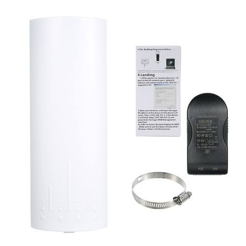 Wireless Outdoor CPE Bridge Outdoor AP Router WDS Network Bridge 3.5KM