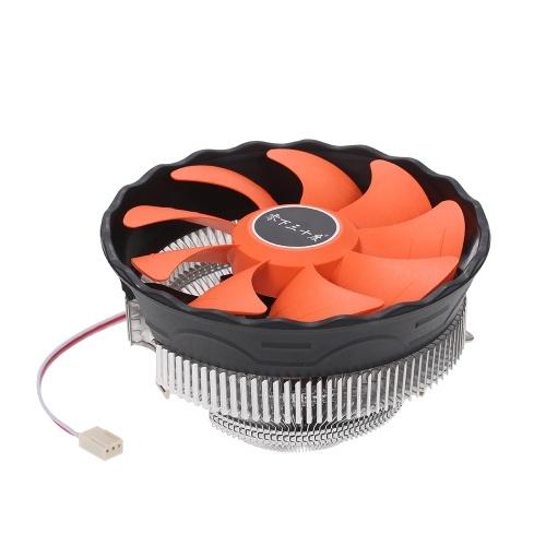 Radiatore idraulico della CPU Ventola dissipatore di calore Radiatore dissipatore silenzioso per Intel Core AMD Sempron Platform