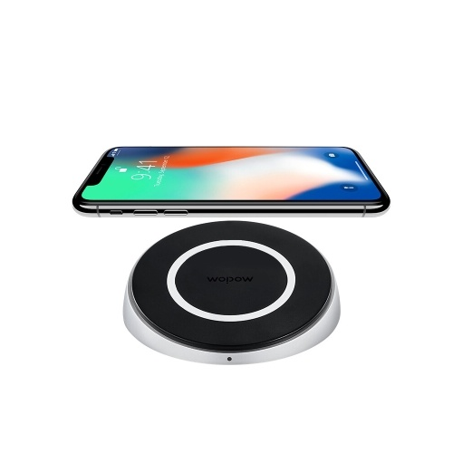 WOPOW Mobile Phone Wireless Charger 10W Double Quick Charge For iPhone Samsung Android Mobile Phone
