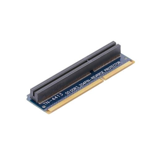 SO DDR3 204PIN Carte d'adaptateur de protection de test de mémoire Protection Vertical Carte d'adaptateur TN-4413 pour ordinateur portable