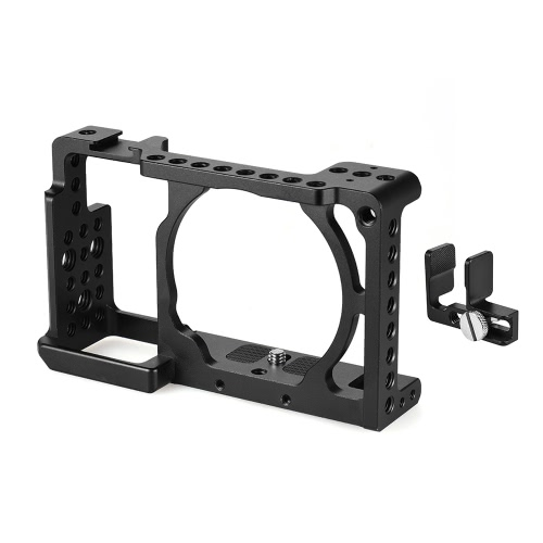 Andoer Protective Video Camera Cage, HD Cable Clamp Clip