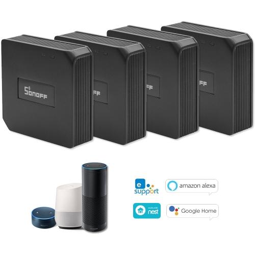 SONOFF 4 STÜCKE RF Brücke ITEAD 433 MHz Smart Home Wifi Wireless Switch