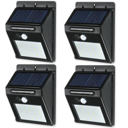 20 LED Solar Sensor wasserdichte Wandleuchten